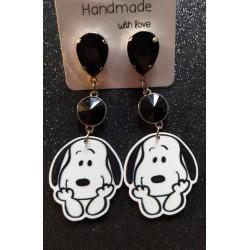 Pendientes Snoopy