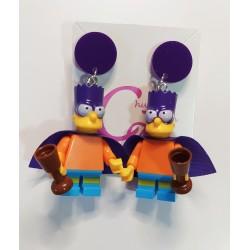 Pendientes Bart Simpson