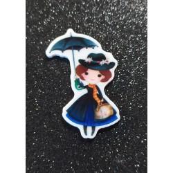 Pieza de resina Mary Poppins