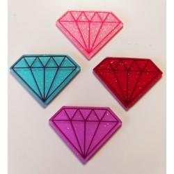 Pieza de resina diamante...
