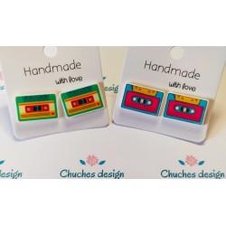 Pendientes cassette