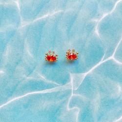 Pendientes mini oceano