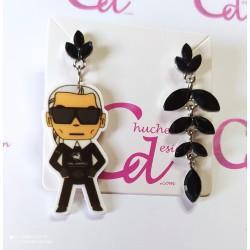 Pendientes Karl Lagerfeld
