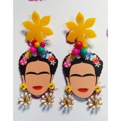 Pendientes Frida margaritas