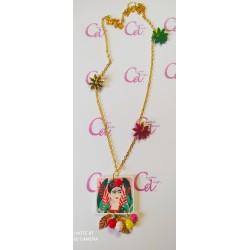 Collar Frida flores