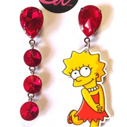 Pendientes Lisa