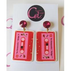 Pendientes cassettes