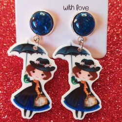 Pendientes Mary Poppins