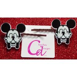 Horquillas Mickey