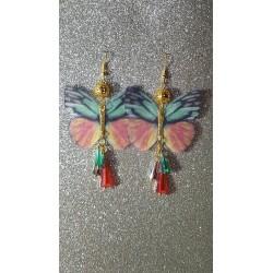 Pendientes mariposas